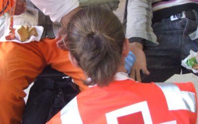Cruz Roja refugiados. Cuando se apagan los focos