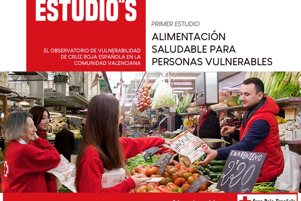 Cruz Roja Valencia presenta el primer estudio sobre alimentación saludable en personas vulnerables