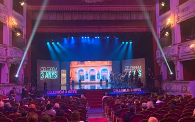 À Punt celebra sus tres primeros años de emisión